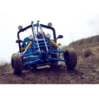 Kandi Blue EEC Go Kart 150cc , Top Speed 65km/h On Mountain Road Manufactures