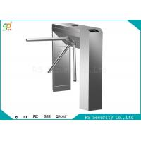 Stainless Steel Waist Height Turnstiles Bi-directional Pedestrian Gate Manufactures