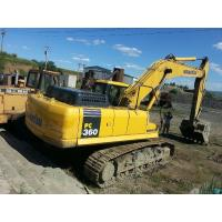 Japan PC360 - 7 Second Hand Komatsu Excavator 1.6 Square Bucket Capacity Manufactures