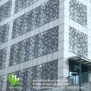 China Decorative Aluminum Facade Panels Metal Weatherboard Cladding  , Exterior Facade Panels on sale