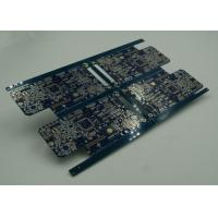 Blue BGA HDI PCB Printed Circuit Board Manufacturer with Blind Via Burried Vias Manufactures
