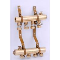 Quality simple manifolds with ball valve on supply flow for sale