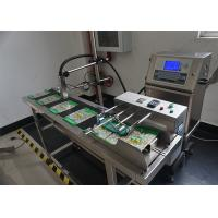 Buy cheap Superior Wide Application Expiry Date Printing Machine / Stamping Machine For Bulb from wholesalers