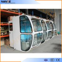 Driver Operator Cold Rolled Steel Overhead Crane Cabin With Head Lamp Manufactures