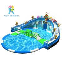 Most popular inflatable water park/inflatable aqua park/inflatable aqua playground with free accessory Manufactures