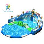 Most popular inflatable water park/inflatable aqua park/inflatable aqua