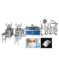Fully Automatic 2 Lines Medical Mask Disposable Face Mask Making Machine Manufactures
