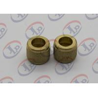 Knurling Precision Machining Parts Flat Head Hollow Brass Injection Plastic Nuts Manufactures