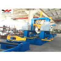 Assembly Welding Straightening H Beam Welding Line 3 In 1 High Efficiency for