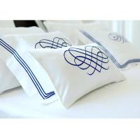 Quality Elegant Embroidered Modern Bedding Sets Twin / Queen / King Size 100% Cotton for sale