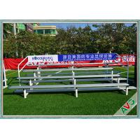 UV Protection Retractable Plastic / Aluminum Bleacher Football Stadium Chairs Manufactures