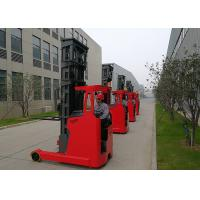 Seated Electric Reach Narrow Aisle Forklift Truck TF20 With 2T Capacity And 7m Lifting Height Manufactures