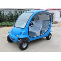 China 4 Passengers Electric Car Golf Cart , 4 Wheels Tourist Small Electric Cars on sale
