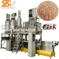 100kg/H -6t/H Fish Food Processing Machine Floating And Sinking SLG65 Manufactures