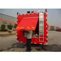 Four Doors Cab Foam Fire Truck HOWO Chassis Four - Stroke Intercooled Engine Manufactures