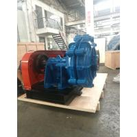 Single Stage Chrome Alloy Slurry Pump Closed Metal Impeller for Abrasive Tailings Manufactures