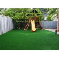China Water - Saving Artificial Grass For Playground Offer Falls Shock Proofing on sale