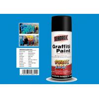 Diamond Blue Color Custom Spray Paint Resists Fading For Interior And Exterior Manufactures