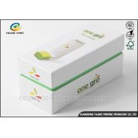 Art Paper Electronics Packaging Boxes Matt Lamination Printing Handling Fade Resistant Manufactures