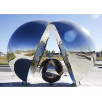 Quality Contemporary Outdoor Metal Sculpture Polished Finishing Corrosion Stability for sale