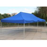 Blue 3x6 Pop Up Gazebo Canopy Screen Printing Easy Carry For Market Advertising Manufactures