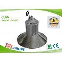 Indoor 125lm / W 60w Led High Bay Lights Commercial High Bay Lighting Manufactures