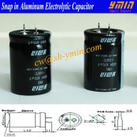 Heat Pump Capacitor Snap in Electrolytic Capacitor for Heat Pump Refrigerator and Air Conditioner Manufactures
