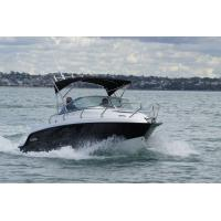 115HP Engine powered Sport Motor Boat With Cuddy / Targa Canopy Top Manufactures