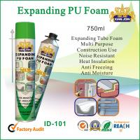 Expanding Tube PU Foam Sealant Noise Resistant For Window Or Door Wood Manufactures