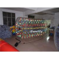 Adults PVC Inflatable Shinning Water Roller Funny For Party Manufactures