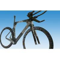 China Integrated Carbon Stem Carbon Time Trial Bike Frame Fast , Easy Control on sale