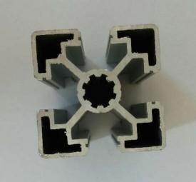 Electrophoretic Coated Industrial Aluminium Profile For Electromechanical Parts Manufactures