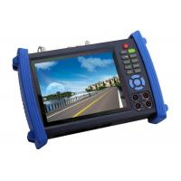 Quality High Resolution CCTV Tester , Multifunction 7 Inch Touch Screen IP Camera Tester for sale