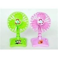 2W Plastic Home Cooling Mini LED Message USB Table Fan with HAVE A GOOD DAY Manufactures