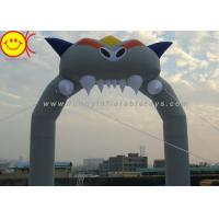 Holiday Inflatable Arch Dragon Nylon for Halloween , Inflatable Entrance Christmas Arch for Rental Manufactures