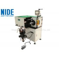Automatic Horizontal Single Side Stator Lacing Machine , Stator OD Ranges from 175~300mm Manufactures