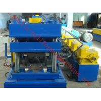 2 Waves W Type Highway Guardrail Roll Forming Machine Export Macedonia Greece Metal Cold Rolling Forming Manufactures