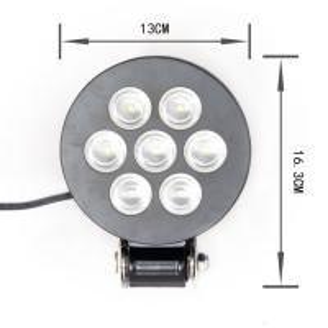 Quality Heavy Duty 21W 5 Inch Led Work Lights For Trucks / 24v PC Lens LED Driving for sale