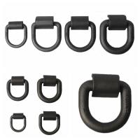 Customized Safety D Rings Steel Heavy Duty Weld Forged Mounting Buckle Manufactures