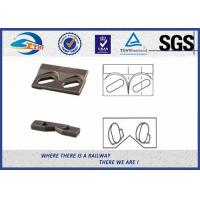 9220 Steel Plate Weldable Upper Rail Clip With Rubber Nose and Base Clip for Crane Rail A100 QU100 Manufactures