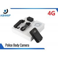 LTE 4G Wireless WIFI Law Enforcement Body Camera Night Vision 2.0 Inch LCD Manufactures