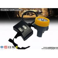 6400mAH Safety Mining Hard Hat Led Lights Semi - Corded Type 8000 Hours Life Span Manufactures