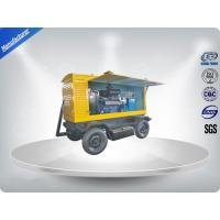 Brushless Quiet Running Mobile Generators Trailer Mounted Class H Insulation 300Kva Manufactures