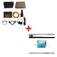 Car Diagnostic tool Of External HDD / 20 Pin Cable , BMW ICOM A2+B+C Manufactures