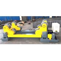 20 Ton Self Aligned Welding Rotator Roller Bed With PU Wheels for 6000mm diameter tank Manufactures