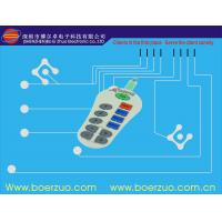 Quality Flexible PCBA Waterproof Membrane Switch With Transparent Window for sale