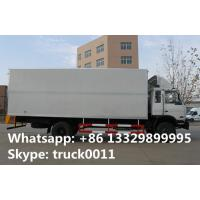 4x2 dongfeng 8 ton to 15 ton refrigerated van, hot sale best price Cummins 170hp dongfeng brand refrigerated truck Manufactures