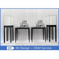 Free Standing Jewelry Display Cases / Jewellery Shop Display Cabinets Manufactures