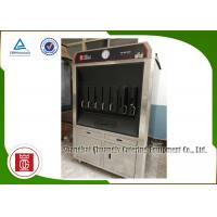Quality Charcoal Heating 6 Fish Spaces Single Layer Fish Grill Machine Rectangle Shape for sale