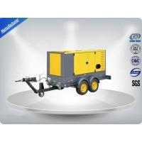 50 Hz Water - Cooling Silent Genset Trailer 16 Cylinder Prime Power 1480Kw Manufactures